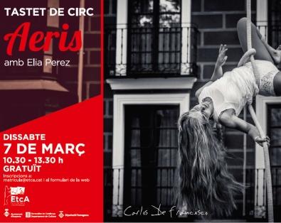 Tastet de circ: Aeris, amb Elia Pérez